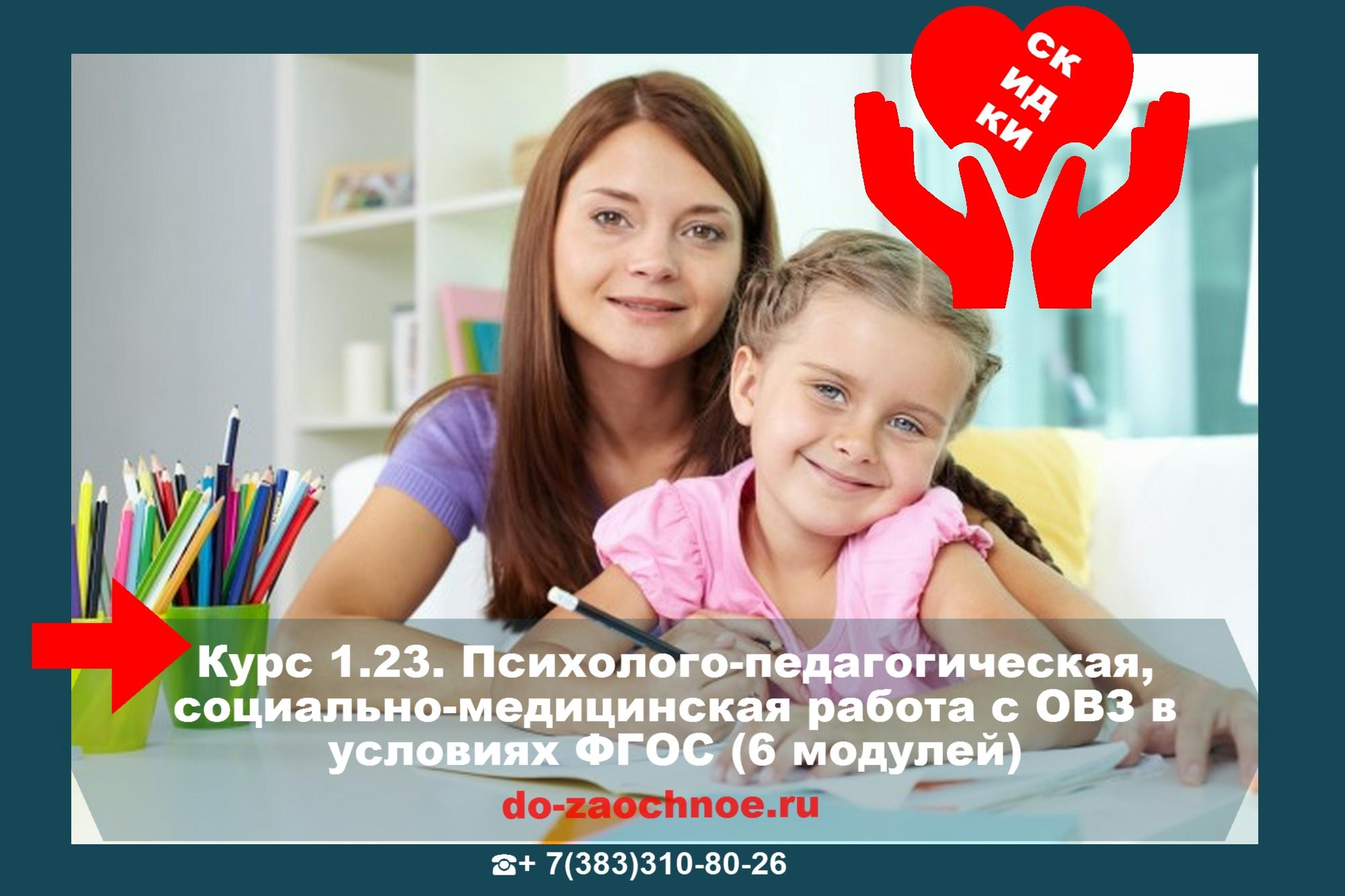 Дистанционный курс ИДПК Психолого-педагогическое сопровождение детей с ОВЗ в условиях ФГОС (6 модулей)